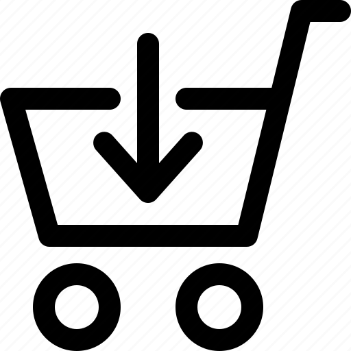 add, arrow, interface, shop, shopping cart, ui, ux icon