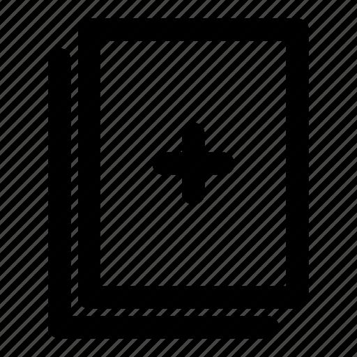 add file, add folder, new, new file, new folder icon