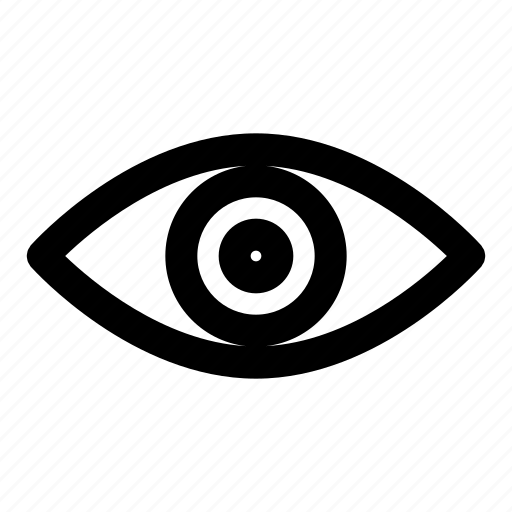 eye, look, view, viewer, views icon