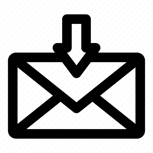 aplication, chatting, conversation, mail, message, new mail icon
