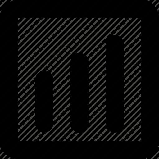 analytics, graph, keywords, rankings, statistics icon