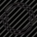 arrow, direction, down, refresh, reload, sync, synchronization