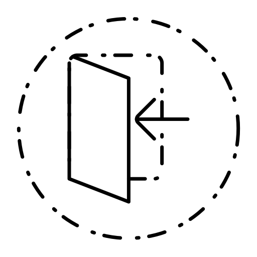 arrow, in, login, seo, user interface icon