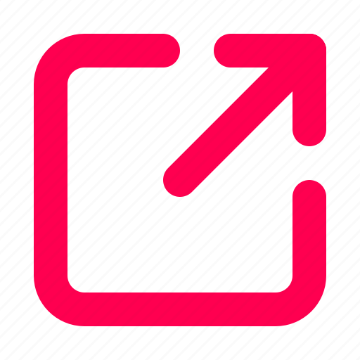interface, share, user icon