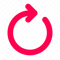 interface, reload, user icon