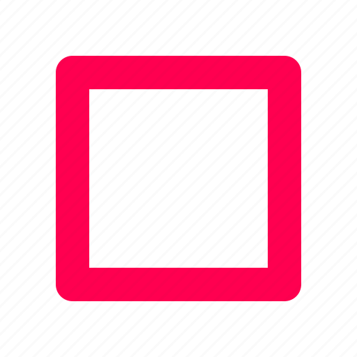 interface, stop, user icon