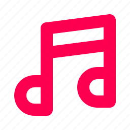 interface, music, note, score, song, user icon