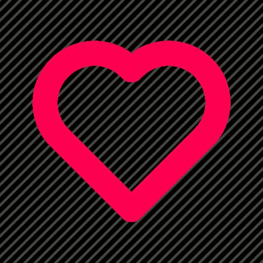 favorite, heart, interface, like, user icon