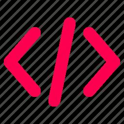 code, css, html, interface, javascript, user icon