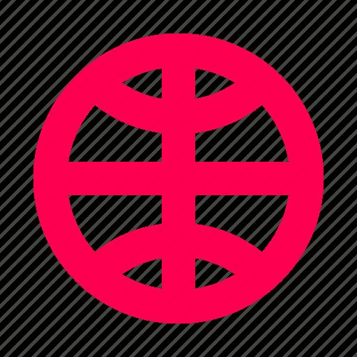 globe, interface, internet, user, web icon