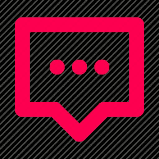 chat, conversation, interface, message, messenger, speech, user icon