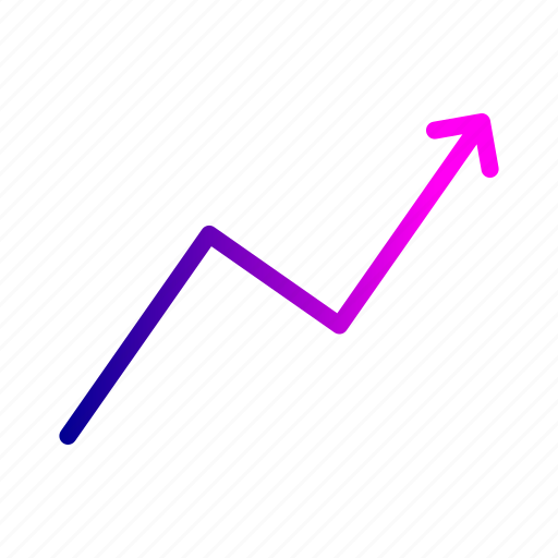 chart, graph, growth, increase, profit icon