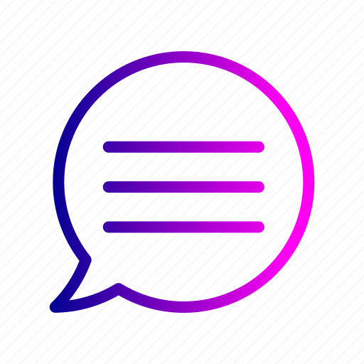 chat, chatting, communication, message, typing icon