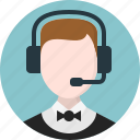 agent, call centre, customer service, help, resolve, sales icon
