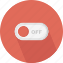 control, off, slide, slide bar, switch, toggle, toggle off icon