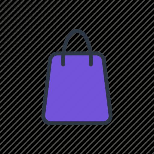 bag, paper bag, shopping, shopping bag icon icon