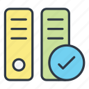 archive, business, document, storage icon icon