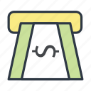 atm, atm machine, dollar, withdrawal icon icon