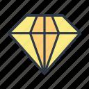 brilliant, diamond, finance, luxury icon icon