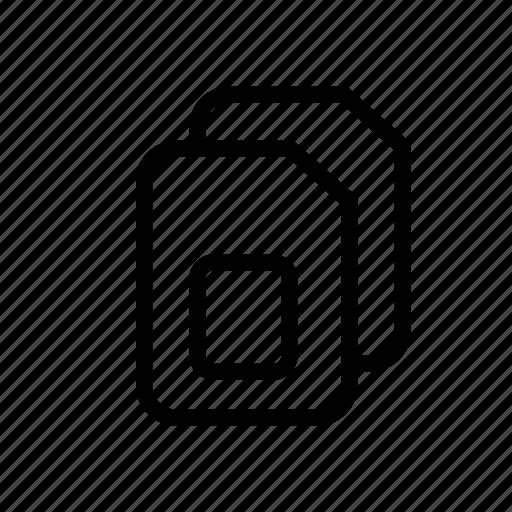 card, mobile, mobile phone, phone card, ruim, sim card, uim icon