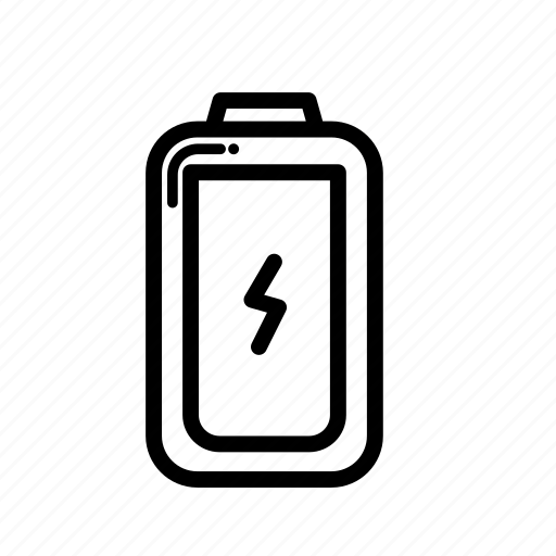 battery, drain, energy, full icon