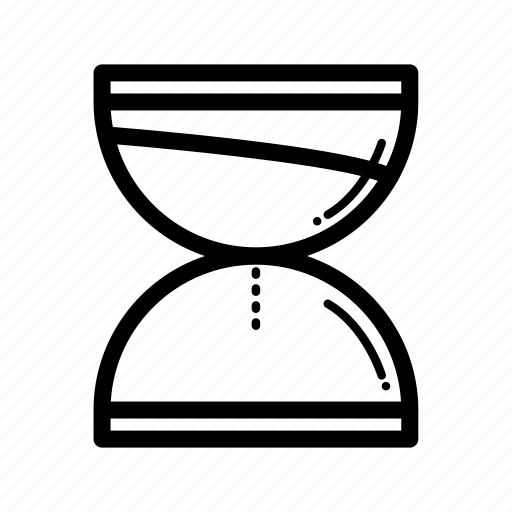 empty, hourglass, measure, time, timer icon
