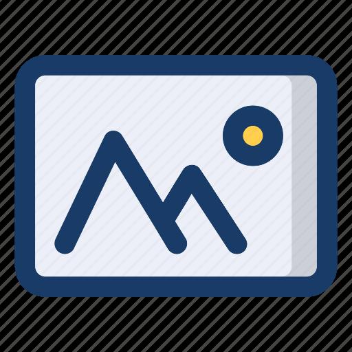 file, illustration, image, photo, picture icon