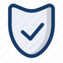 check, file, guard, protect, shield icon