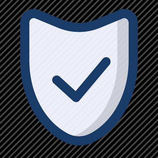 check, file, guard, protect, shield icon