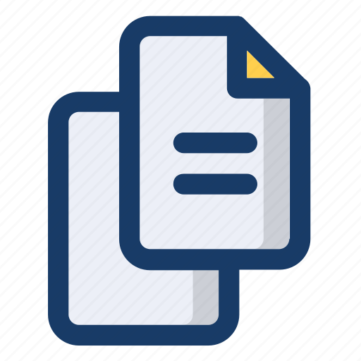 documents, file, info, page, text icon