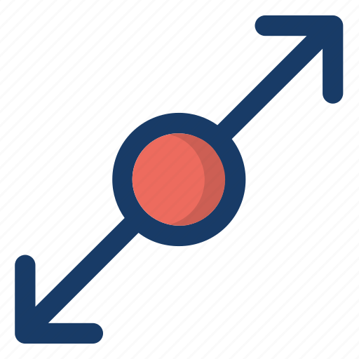 arrow, screen, size, ui, zoom icon