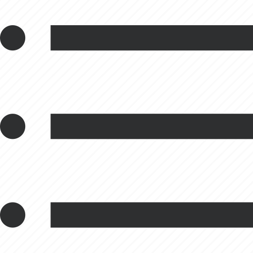 checklist, filter, list, sequence, sort icon