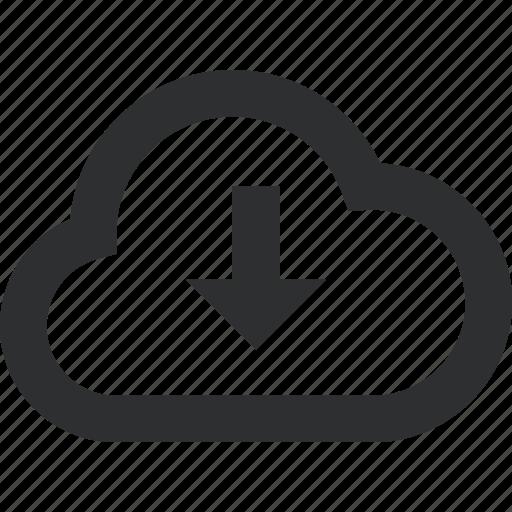 Cloud, data, download, upload icon - Download on Iconfinder