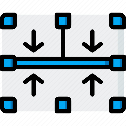 border, drawing, graphical, gui, middle, tools, ui icon