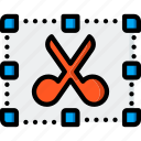 cut, drawing, graphical, gui, tools, ui icon