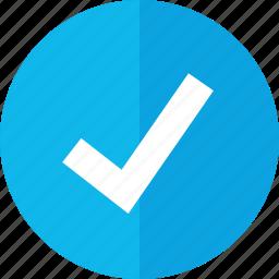 approve, check mark, good, safe icon