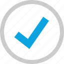check mark, good, ok, safe icon