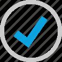check mark, good, ok, safe icon