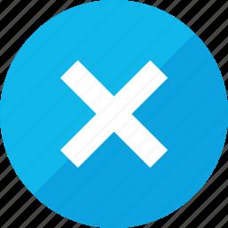 delete, no, stop, x icon