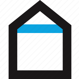 home, house, interface, navigation icon