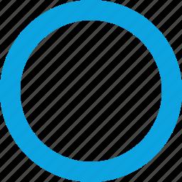 hit, interface, record, round icon