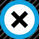stop, denied, delete, interface design