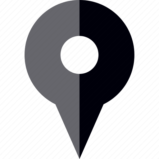 gps, location, navigate, pin icon