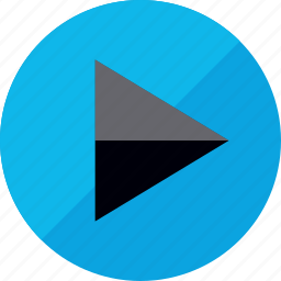 interface design, media player, play, video icon