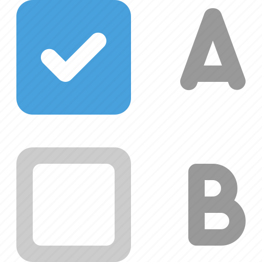 checkbox, choose, enabled, options icon