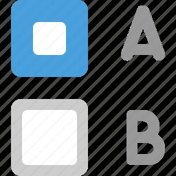 check box, checkbox, indeterminate icon