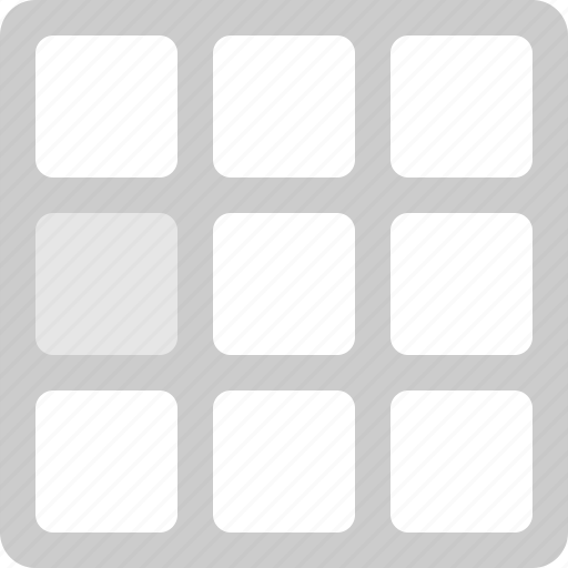 grid, grid layout, guide, layout icon
