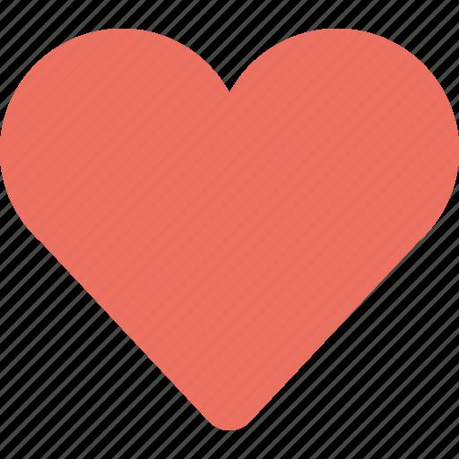 favorite, full heart, heart, red heart icon