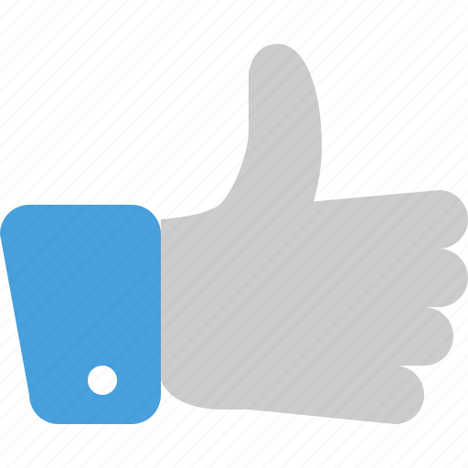 favorite, like, thumbs, up, vote icon