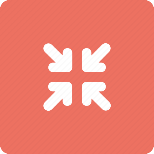 minimize, scale down, small icon